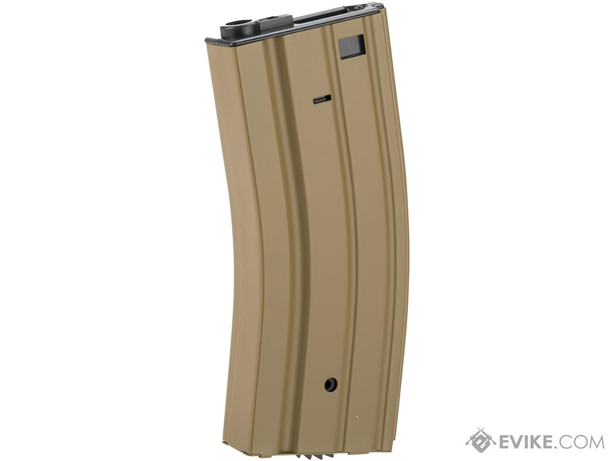 Full Metal 300 round Hi-Cap Magazine For M4 M16 L85 SCAR Series Airsoft AEG - Dark Earth