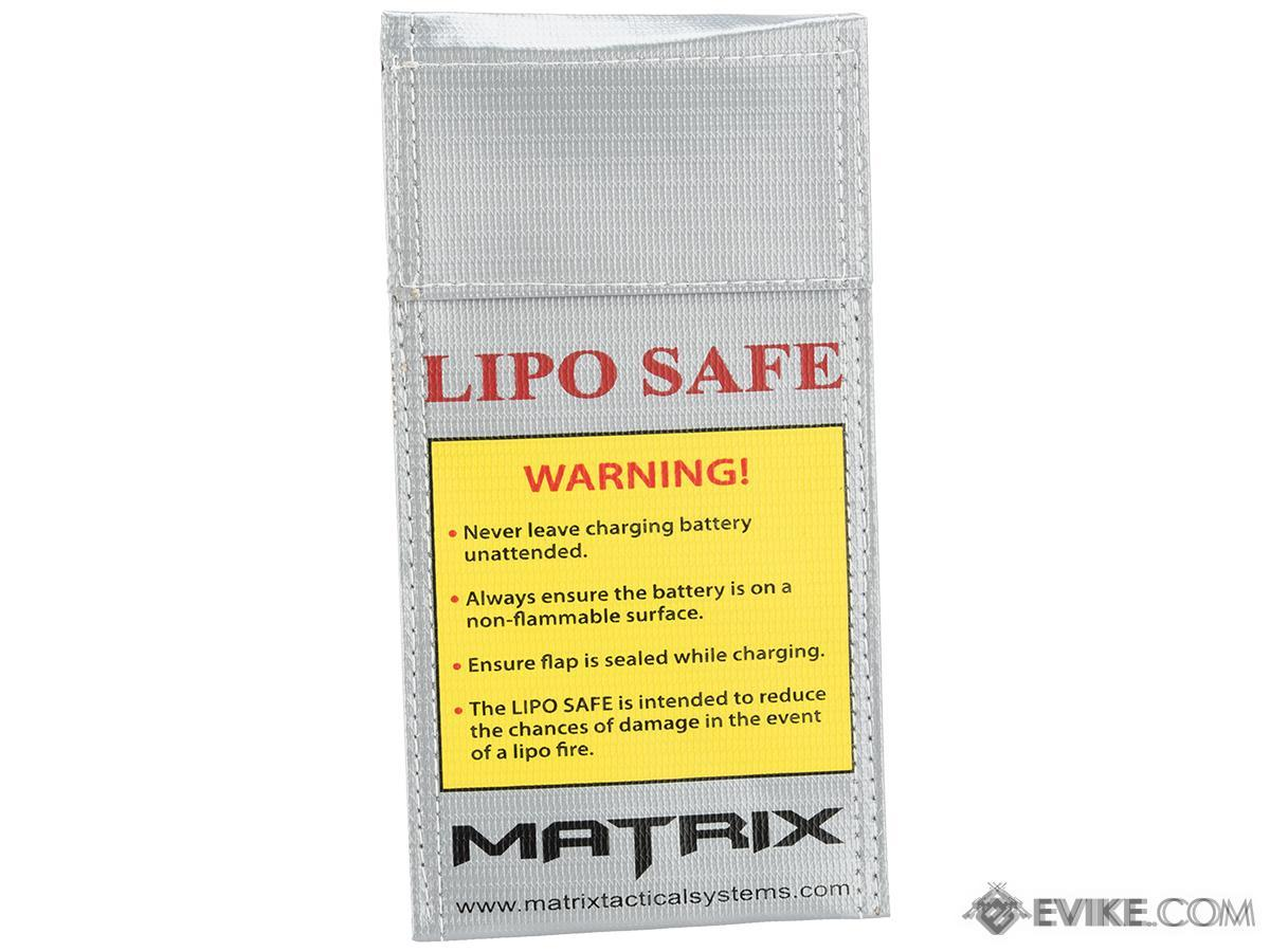 Matrix LIPO SAFE Lipoly Battery Charging Container Bag (100 x 200 mm)