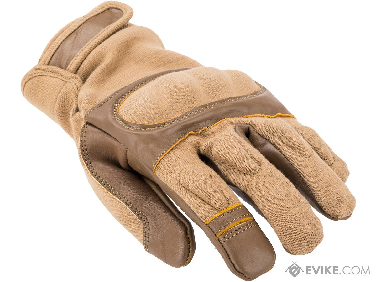z Matrix Nomex Hard Shell Knuckle Tactical Gloves (Color: Tan / Medium)