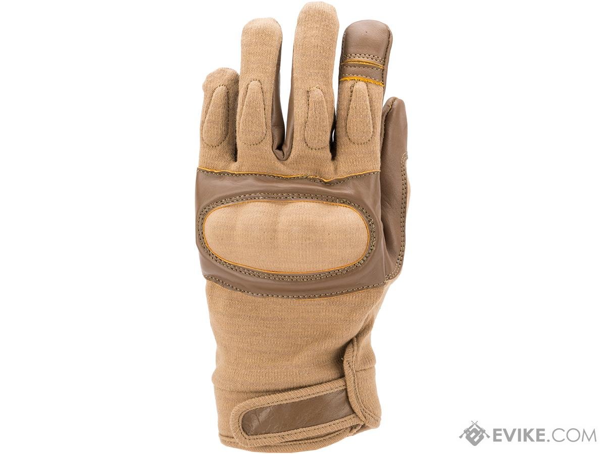 Matrix Nomex Hard Shell Knuckle Tactical Gloves (Color: Tan / Large)