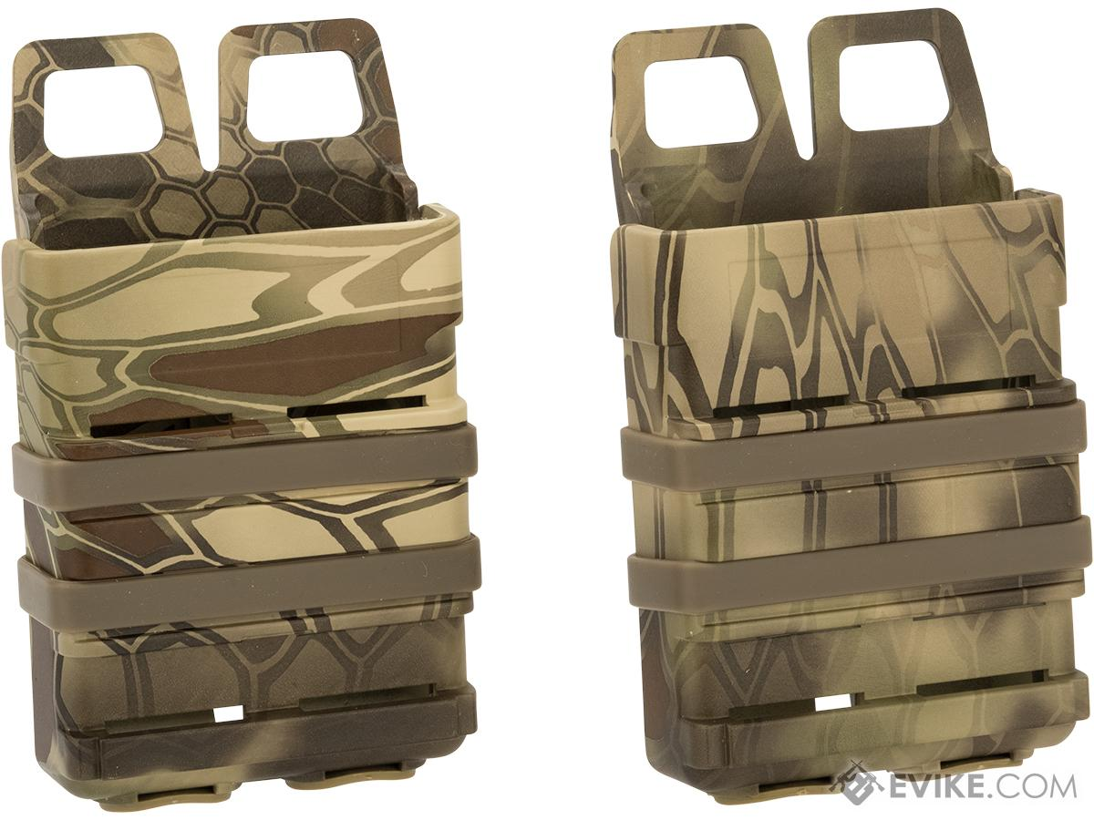 Matrix Fast Hard Shell Magazine Holster - 2x Rifle Mag Configuration (Color: Desert Serpent)
