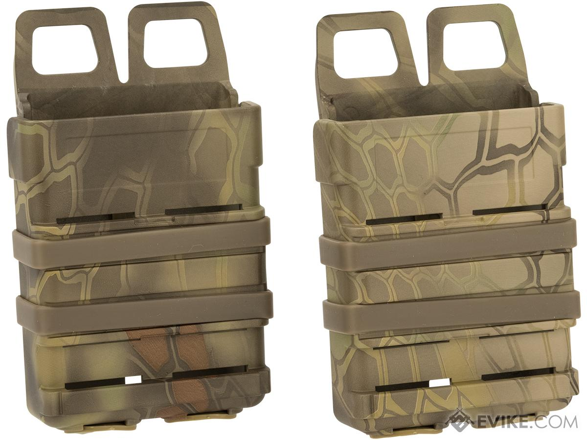 Matrix Fast Hard Shell Magazine Holster - 2x Rifle Mag Configuration (Color: Woodland Serpent)