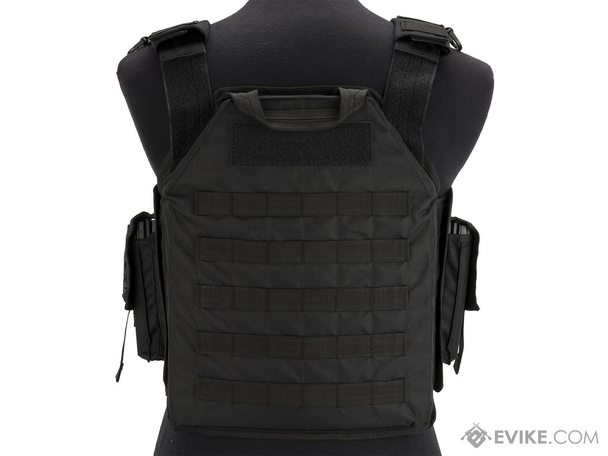 Matrix MTS SDEU Elite Running Plate Carrier (Color: Black)