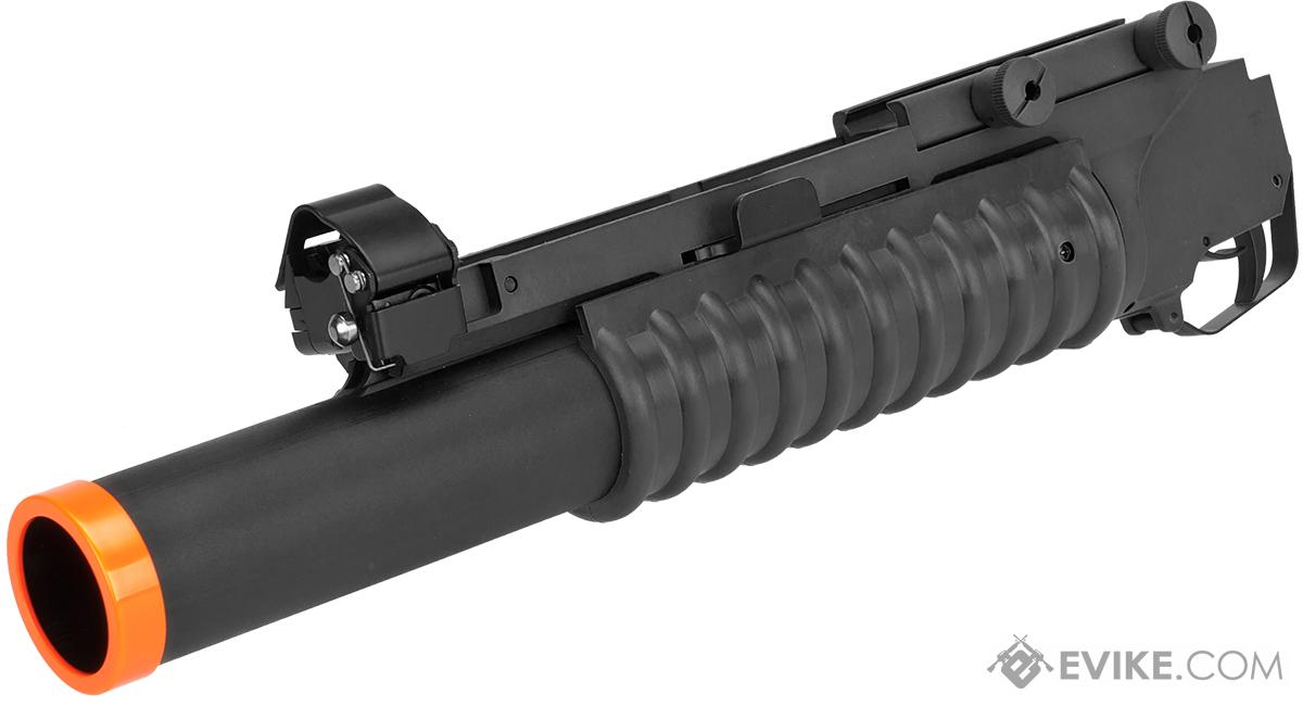 (CYBER MONDAY DEAL!) Matrix Speed M203 Grenade Launcher for M4 M16 Series Airsoft Rifles (Model: Long Type / Black)