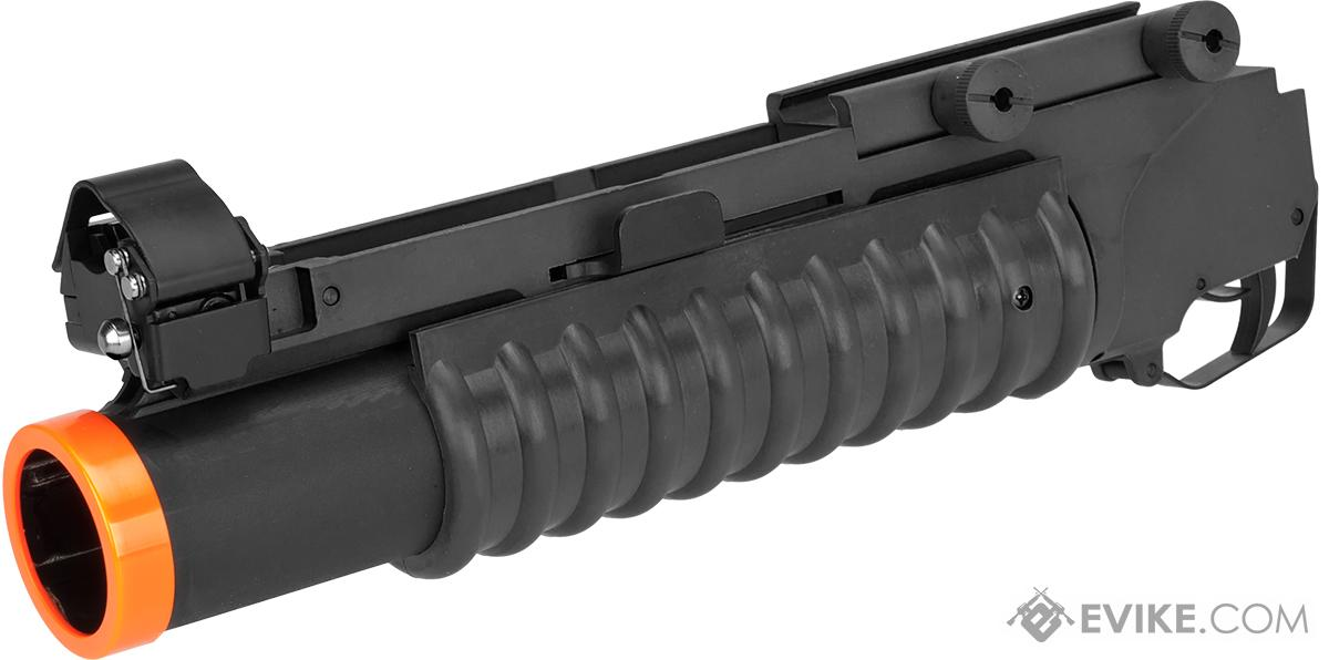 Matrix Speed M203 Grenade Launcher for M4 M16 Series Airsoft Rifles (Model: Short Type / Black)