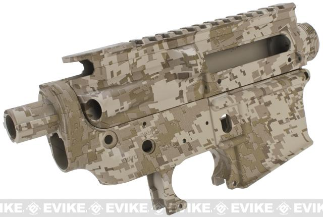 z Full Metal Body Kit for M4 / M16 Airsoft AEG Rifles - Digital Desert
