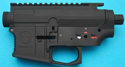 z G&P Magpul Type PTS Metal Body for M4 / M16 Series Airsoft AEG. (Black)