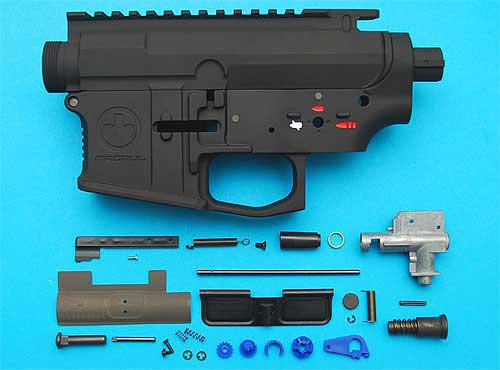 z G&P Magpul Type PTS Metal Body for M4 / M16 Series Airsoft AEG. (Black)