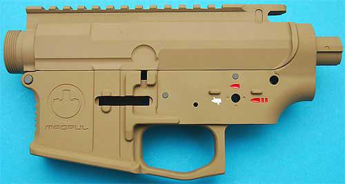 z G&P Magpul Type PTS Metal Body for M4 / M16 Series Airsoft AEG. (Sand)