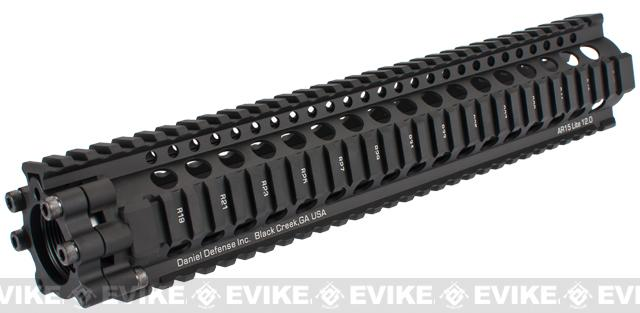 Madbull Daniel Defense 12 Lite RIS for Airsoft M4 / M16 Series - Black