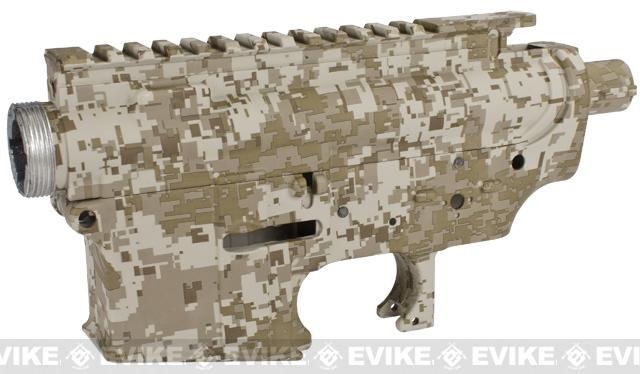 z DYTAC Metal Receiver for M4 / M16 Series Airsoft AEG Rifles - Digital Desert
