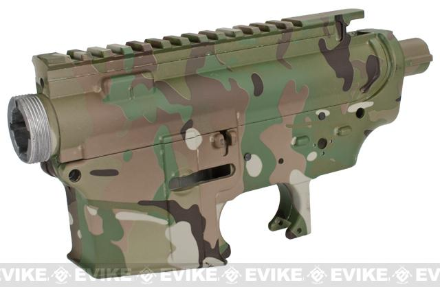 DYTAC Metal Receiver for M4 / M16 Series Airsoft AEG Rifles - Land Camo
