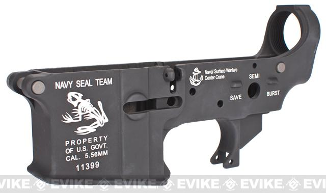 z G&P Spare Lower Receiver for G&P / WA M4 Airsoft GBB Rifles - Skull Frog
