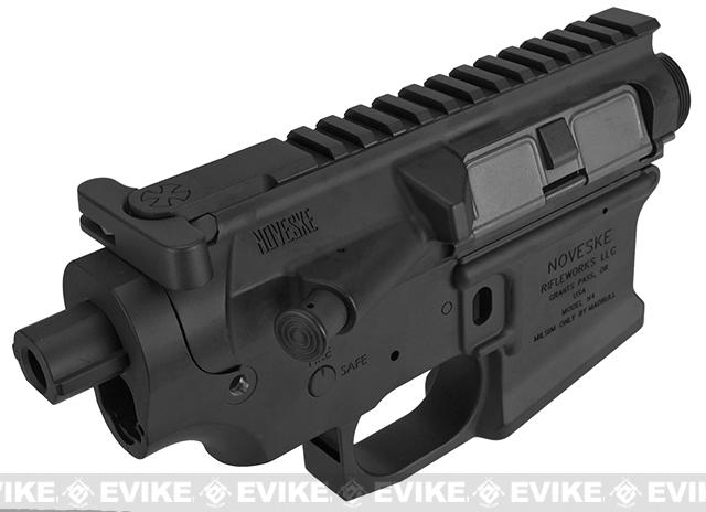 Officially Licensed Noveske N4 Gen. III Full Metal Receiver for Airsoft M4/M16 AEGs by Madbull - Black