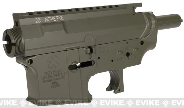 Madbull Licensed Noveske MUR Metal Body for M4 M16 Airsoft AEG w/ Ultimate Hopup Unit - OD Green