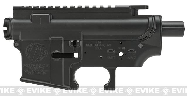 Officially Licensed PRI Version 2 Full Metal Receiver for Airsoft M4/M16 AEGs by Madbull - Black