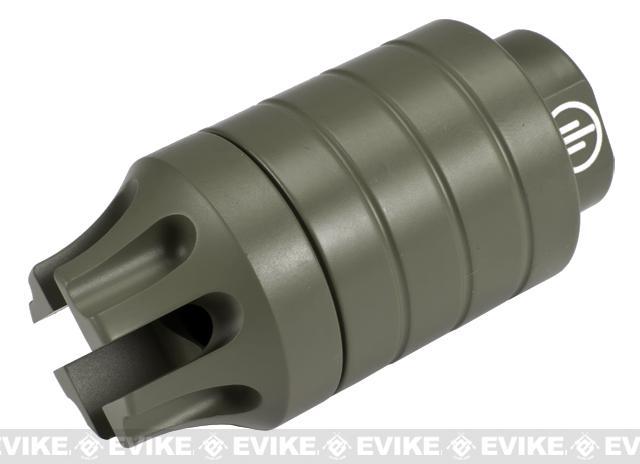 z Madbull PWS CQB Mock Compensator / Amplifier - OD Green