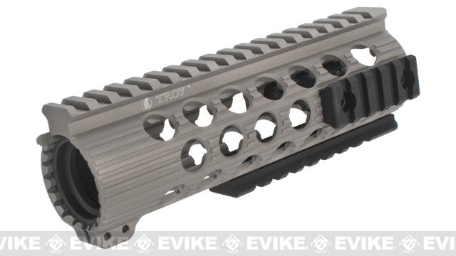 Madbull Troy Industries TRX Battle Rail for Airsoft M4/M16 Series Airsoft AEG Rifles - 7 / Dark Earth