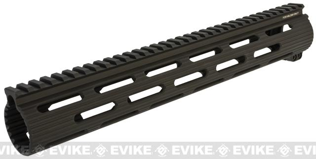 Madbull VTAC Extreme Battle Rail for Airsoft M4/M16 Series Airsoft AEG Rifles - 13 / Black