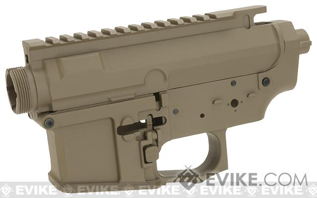 G&P MOTS Full Metal Receiver Kit - Blank / Dark Earth
