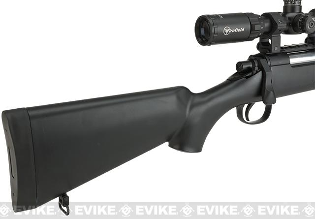 WELL MB02 Bolt Action Sniper Rifle - Black
