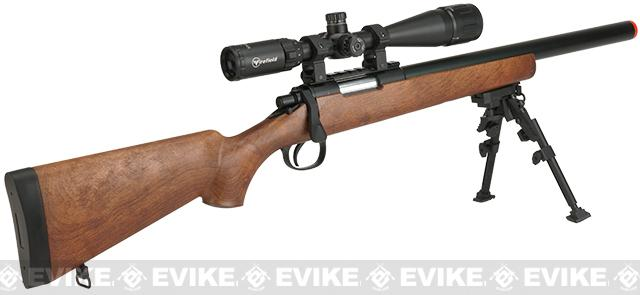WELL MB02 Bolt Action Sniper Rifle - Imitation Wood
