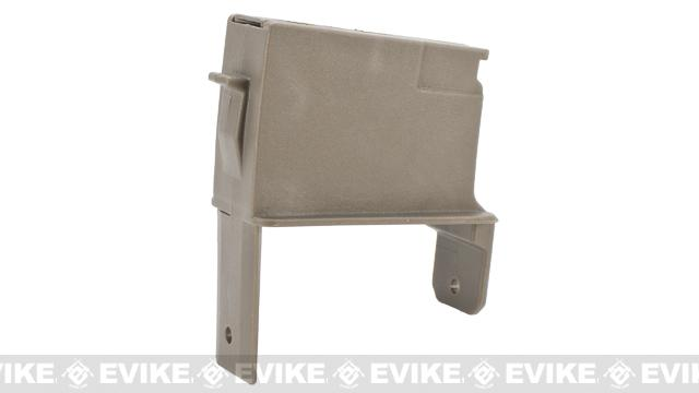 ICS Magazine Adapter for ICS Adaptive Airsoft AEG Drum Magazine - AK / Tan