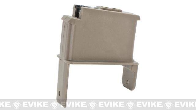ICS Magazine Adapter for ICS Adaptive Airsoft AEG Drum Magazine - SIG / Tan