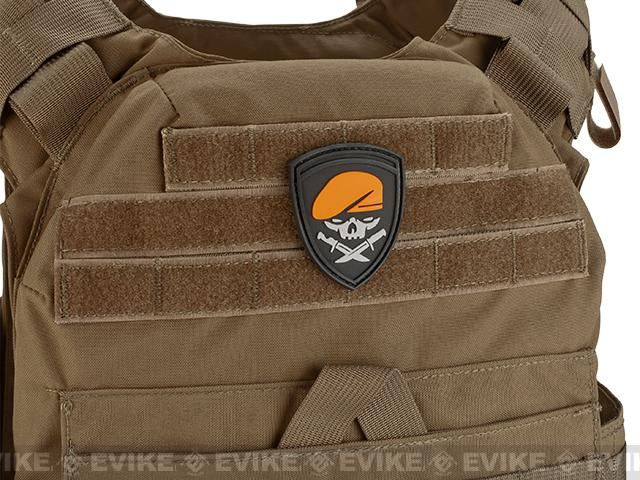 PVC Tactical Hook and Loop Patch - Menace of Horror (Color)
