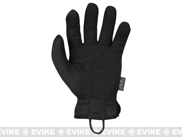 Mechanix Wear FastFit Covert Tactical Gloves - Black (Size: Large)