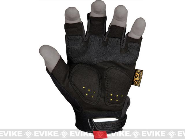 Mechanix Wear M-Pact Fingerless Gloves - Black (Size: MD/LG)