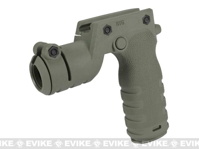 Mission First Tactical REACT Torch Grip - Foliage Green