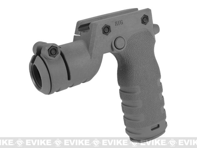 z Mission First Tactical REACT Torch Grip - Grey