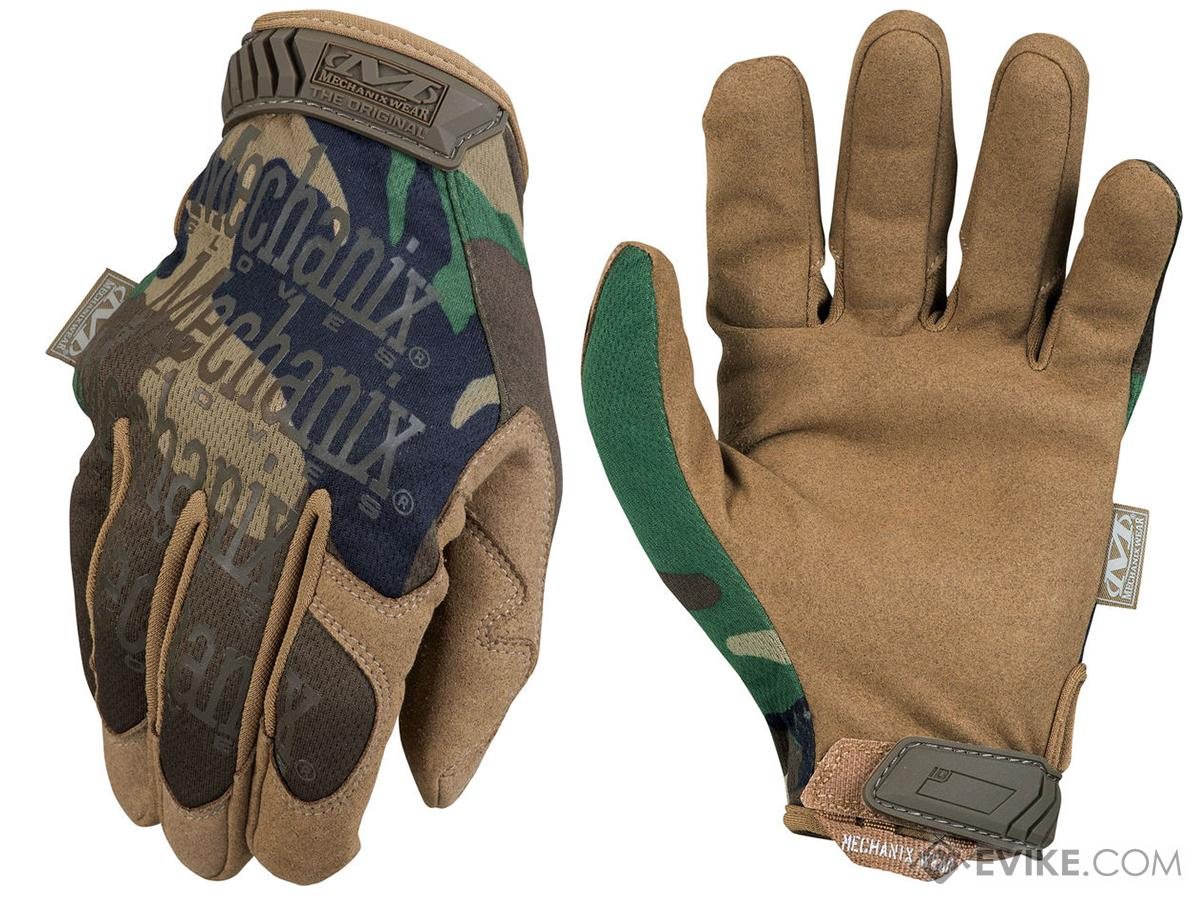 Mechanix Original Tactical Gloves - Woodland (Size: Small)