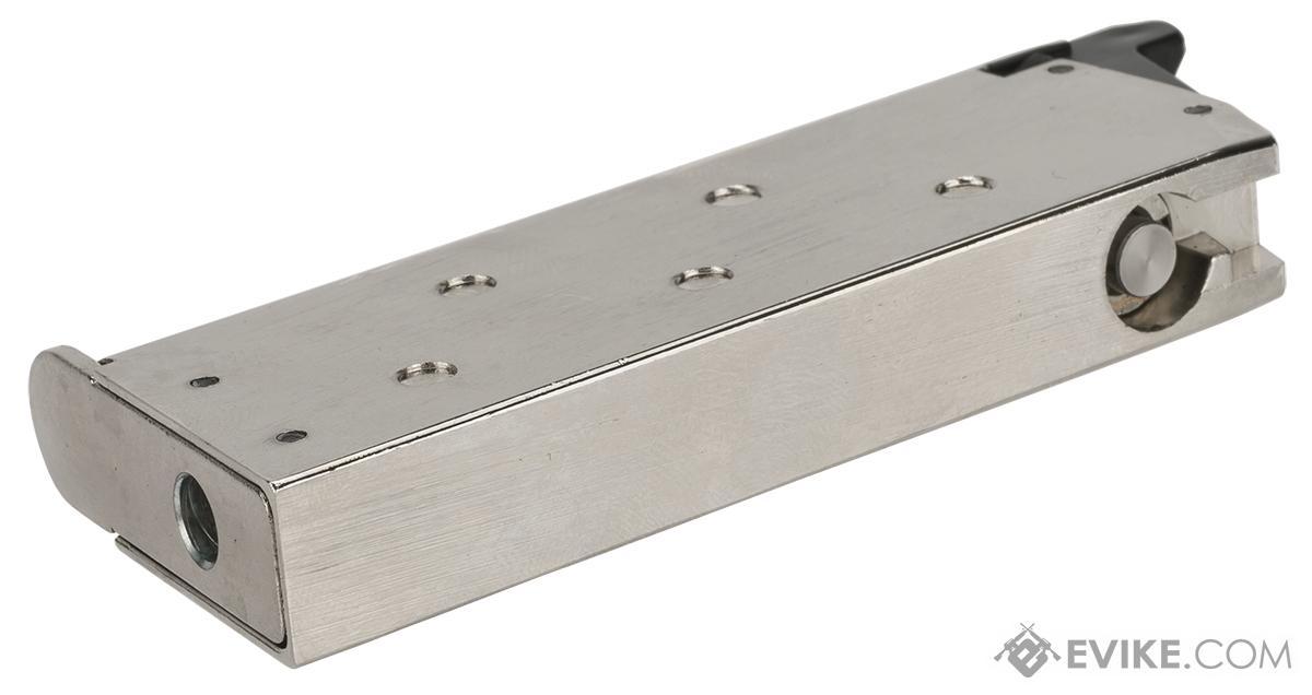 Matrix 18 Round Detonics Magazine for Gas Powered Detonics .45 Airsoft Pistols - Silver