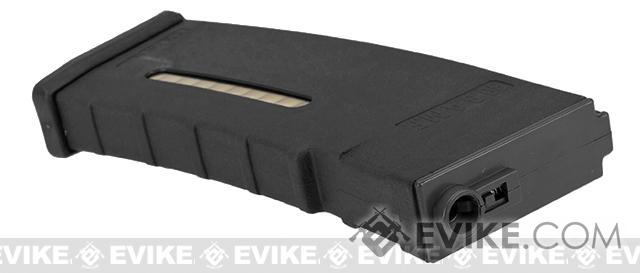 Evike.com BAMF 30rd Polymer MilSim Magazine for M4 / M16 Series Airsoft AEG Rifles - Black (10 Pack)
