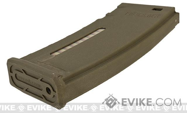 Evike.com BAMF 30rd Polymer MilSim Magazine for M4 / M16 Series Airsoft AEG Rifles - Tan (10 Pack)