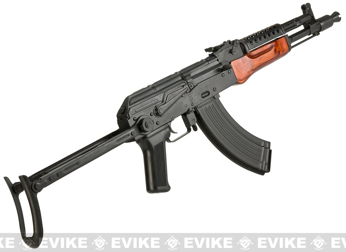 Pre-Order ETA May 2017 LCT Airsoft MG-MS NV Full Metal Airsoft AEG with Real Wood Furniture and Underfolding Stock