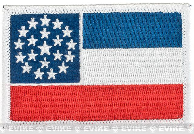 Evike.com Tactical Embroidered Flag Patch (State: Mississippi The Magnolia State)