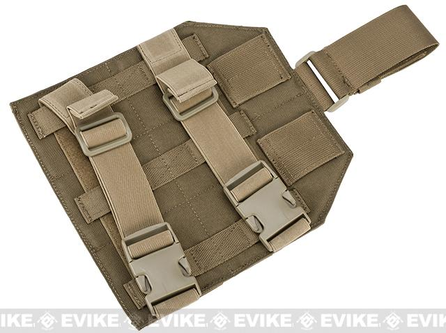 Avengers MOLLE Drop Leg Panel - Coyote Brown