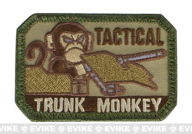 Mil-Spec Monkey Tactical Trunk Monkey Hook and Loop Patch - Multicam