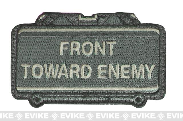Mil-Spec Monkey Front Toward Enemy Hook and Loop Patch - ACU