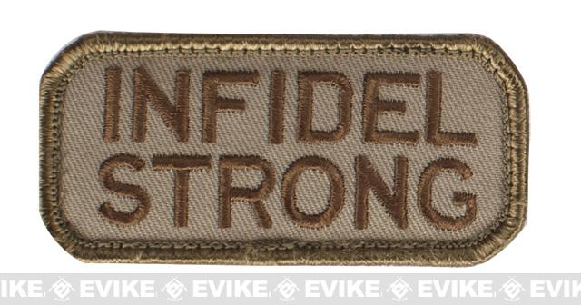 Mil-Spec Monkey Infidel Strong Patch - Desert