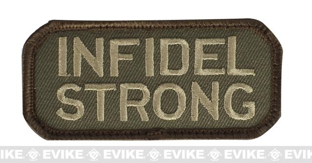 Mil-Spec Monkey Infidel Strong Patch - Forest