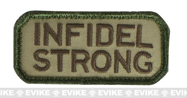 Mil-Spec Monkey Infidel Strong  Patch - Multicam