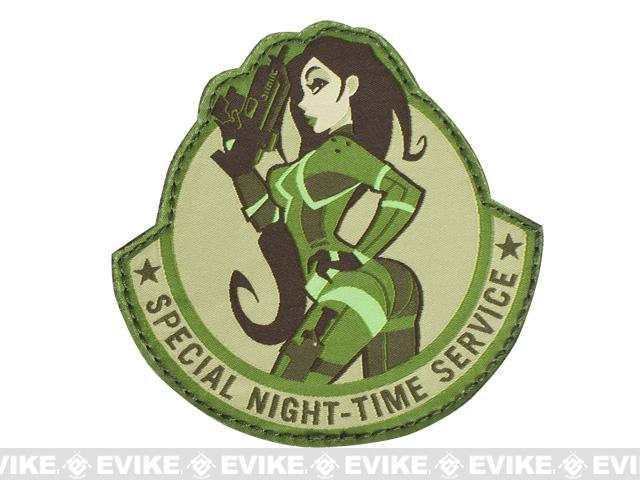 Mil-Spec Monkey Special Night Hook and Loop Patch - Arid