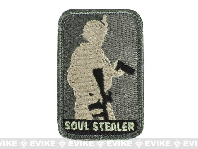Mil-Spec Monkey Soul Stealer Hook and Loop Patch - ACU