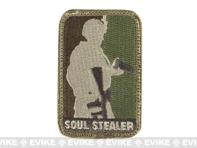 Mil-Spec Monkey Soul Stealer Hook and Loop Patch - Arid