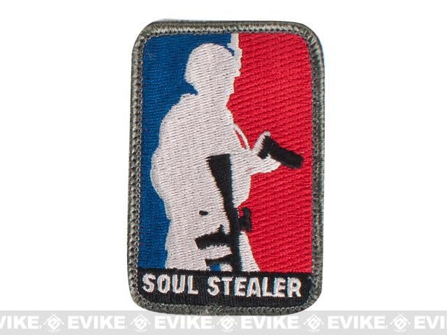 Mil-Spec Monkey Soul Stealer Hook and Loop Patch - Full Color