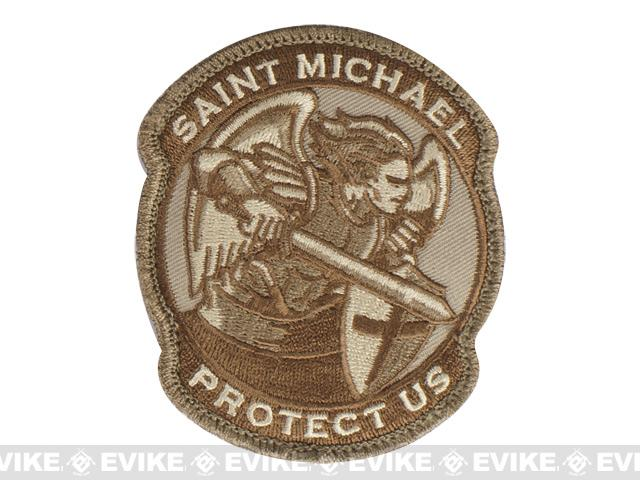 Mil-Spec Monkey Saint-M Modern Hook and Loop Patch - Desert